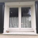 Serrurier Montreuil Fenêtre bois cuisine avant extérieur ETS Phienboupha Serrurerie