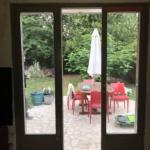 Serrurier Montreuil Porte Fenêtre bois Salon avant inérieur ETS Phienboupha Serrurerie