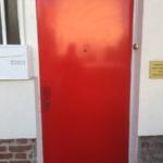 Serrurier pas cher Montreuil,ETS PHIENBOUPHA porte blindée rouge