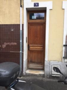 portes d'acces immeuble avant changement, ETS PHIENBOUPHA SERRURIER