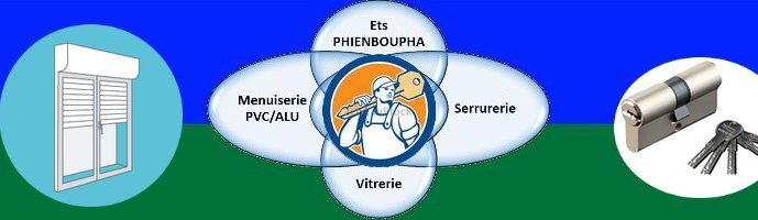 Ets Phienboupha – Serrurerie Vitrerie